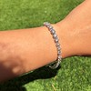 10.50ctw Round Brilliant Diamond Tennis Bracelet 15