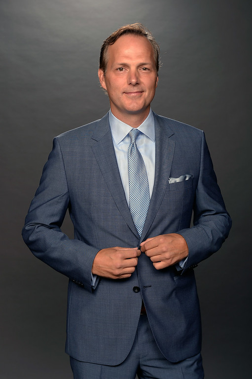 . Jon Cooper of the Tampa Bay Lightning poses for a portrait during the 2014 NHL Awards at Encore Las Vegas on June 24, 2014 in Las Vegas, Nevada.  (Photo by Harry How/Getty Images)