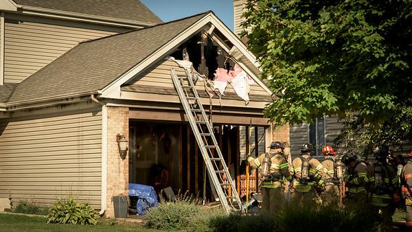 Cville FD Residential Fire Merrywell Ct.