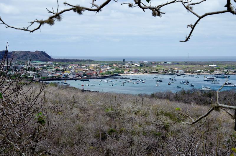 Puerto Baquerizo Moreno, San Cristobal, The Galapagos from Frigatebird hill