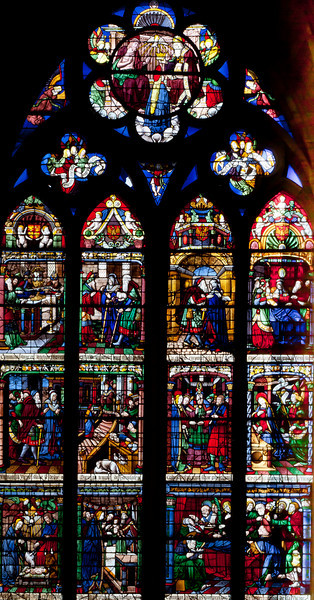 Chalons-en-Champagne Cathedral, The Life of the Virgin