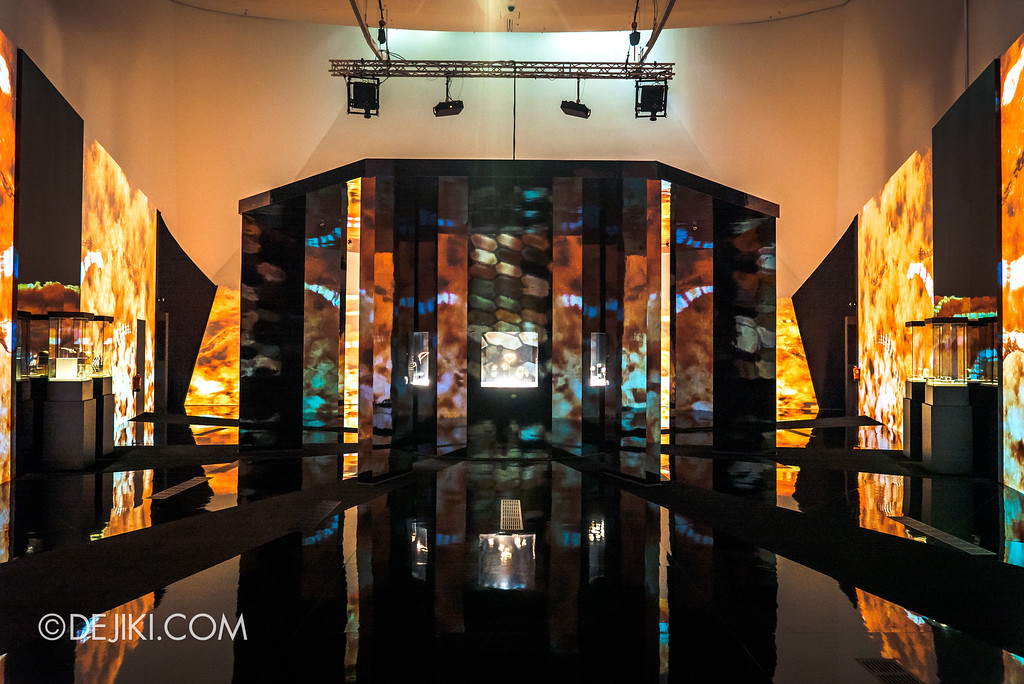 Bulgari SERPENTIform exhibition at ArtScience Museum - Bulgari High Jewellery showcase