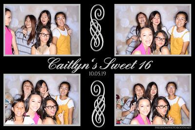 Caitlyn's Sweet 16 10.5.19