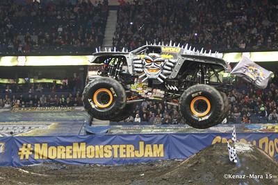 Monster Jam 2015 Allstate Arena, Chicago