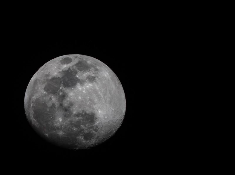 90 Percent full moon 3/18/2019