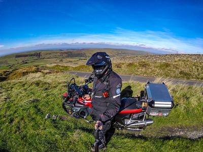 Goyt Valley on f800GS adventure