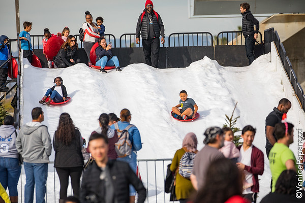 12.21.19 Beach Winter Wonderland at Dockweiler Youth Center