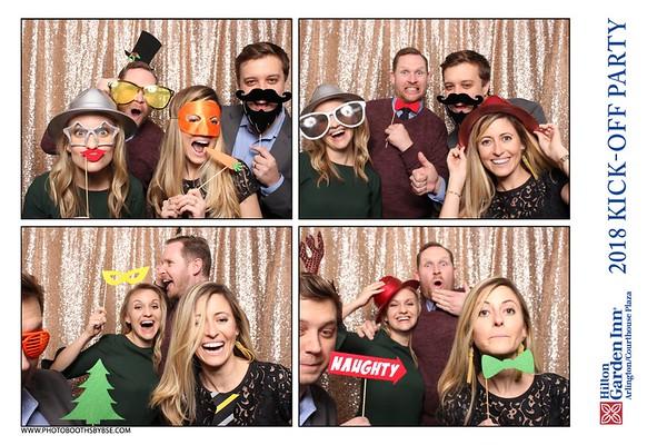 Hilton Garden Inn Arlington/Courthouse Plaza 2018 Kick-Off Party Photo Booth