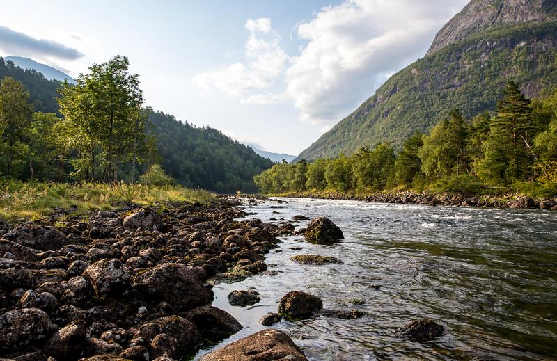 The river at Eidfjord