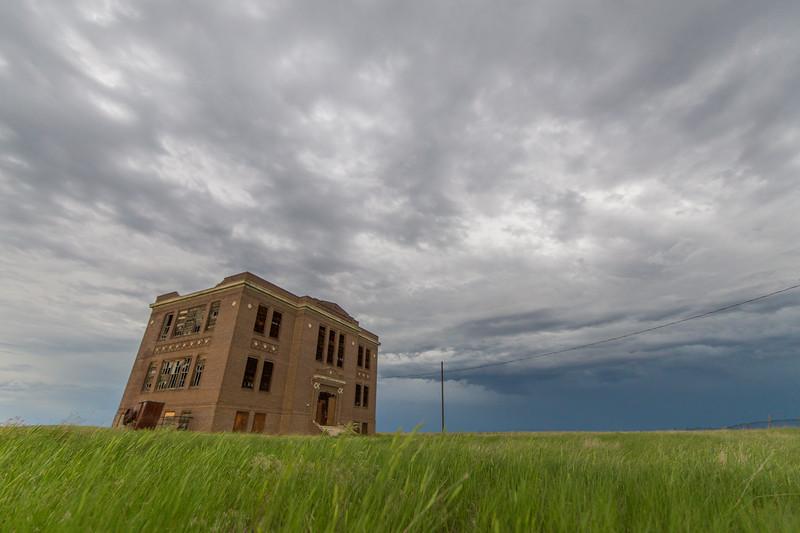 Abandoned Vananda School