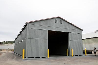 Fitchburg's new salt shed, Oct. 11, 2019