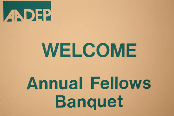 AADEP Fellow Banquet