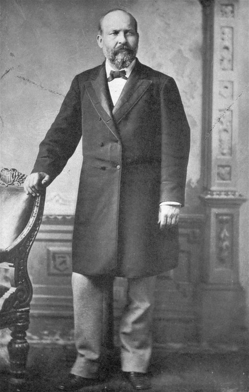 . An undated Mathew Brady photo of James A. Garfield, 20th president of the United States (1881).  On July 2, 1881, Garfield was shot by a mentally disturbed office-seeker, Charles J. Guiteau, while entering a railroad station in Washington, D.C.  He died on September 19, 1881.  (AP Photo/Mathew Brady)