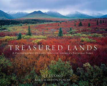 Best Photography Books - Treasured Lands: A Photographic Odyssey Through America's National Parks