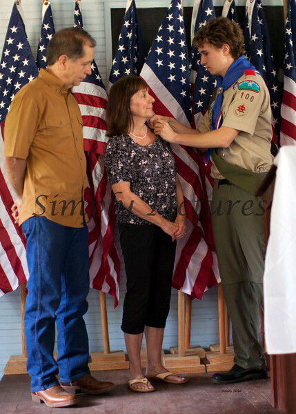 Eagle Scout Ceremony for Weston041