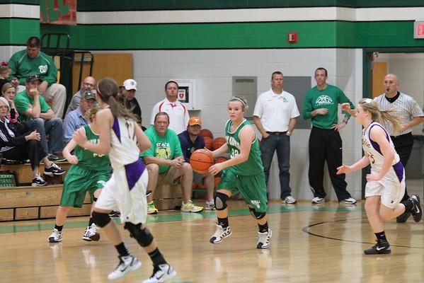 2012-Jan 8th Grade Girls A Basketball