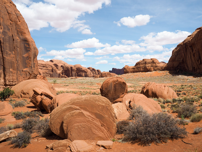 Dragon Eggs at Monument Valley