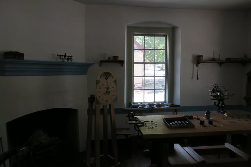John Vogler House (ca. 1819) - Workshop