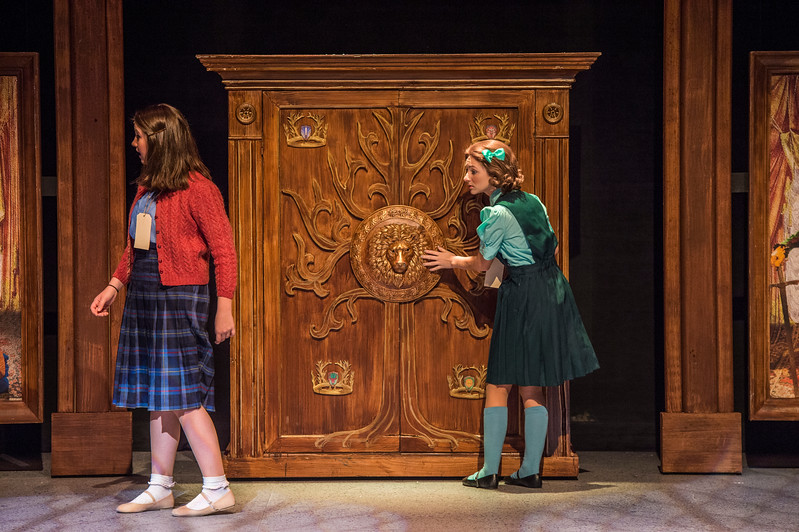 The Lion, the Witch and the Wardrobe dress rehearsal