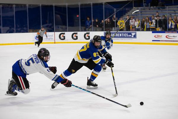 Ice Hockey: Duchesne vs Seckman