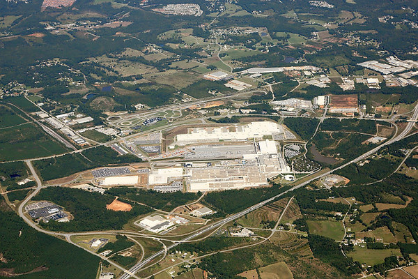 BMW Plant Aerials Oct 2013