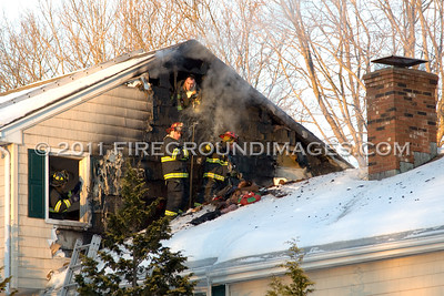 Cottontail Trail Fire (Trumbull, CT) 1/24/11