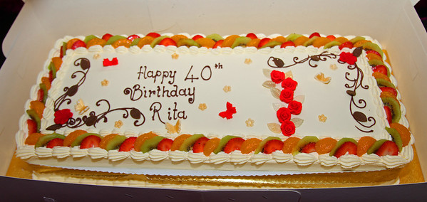 Rita's birthday