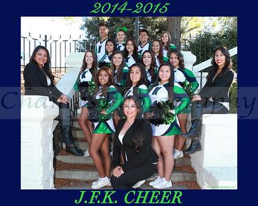 JFK Cheer Team 2014-2015