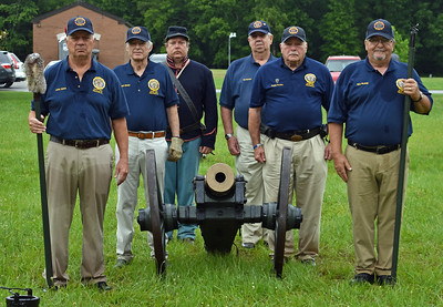 Post 555  Memorial Day Cannon Salute 5/28/2018