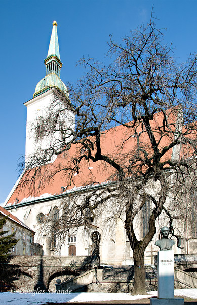 St. Martin's Cathedral in Bratislava (aka Coronation Church)