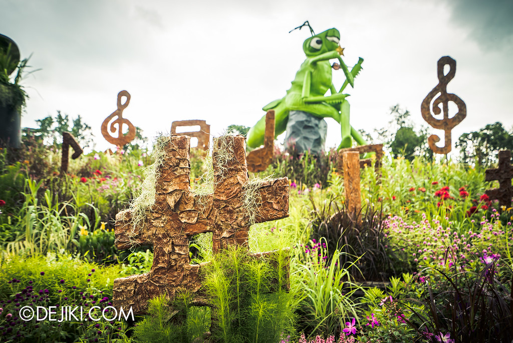 Singapore Garden Festival 2016 - Grasshopper music