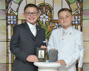 Mark & Joseph Communion 2020