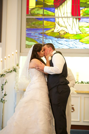 Courtney and David Wedding