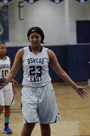 Oswego East Soph. Girls Basketball Vs Plainfield Central 2014