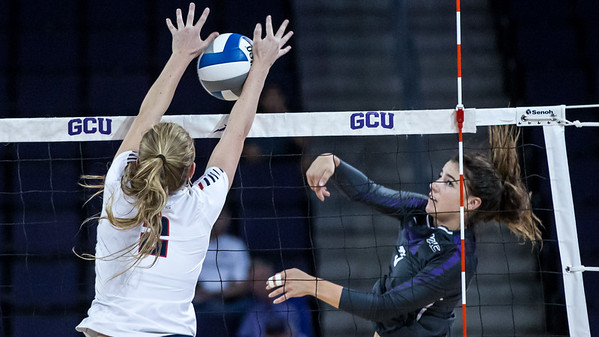 Volleyball Grand Canyon University vs Gonzaga 20170909