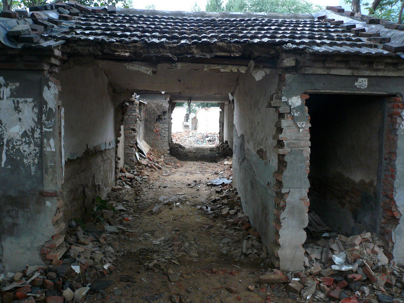 The old Hutong are disappearing from 2004-2007