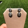 .85ctw Antique Table Cut Diamond Double Drop Earrings 1