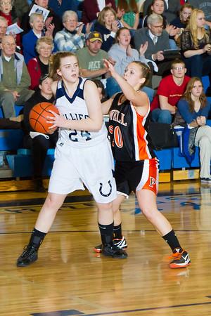 2011-01-13 Basketball vs Powell