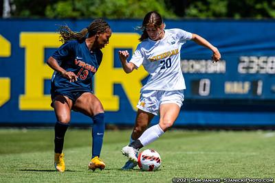 8-14-21 - Best of Michigan Women's Soccer Vs Virginia (Ex)