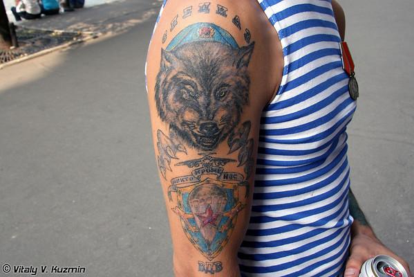VDV tattoo