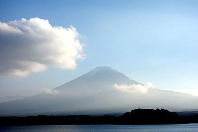 Lake Kawaguchi and Mount Fuji 2013