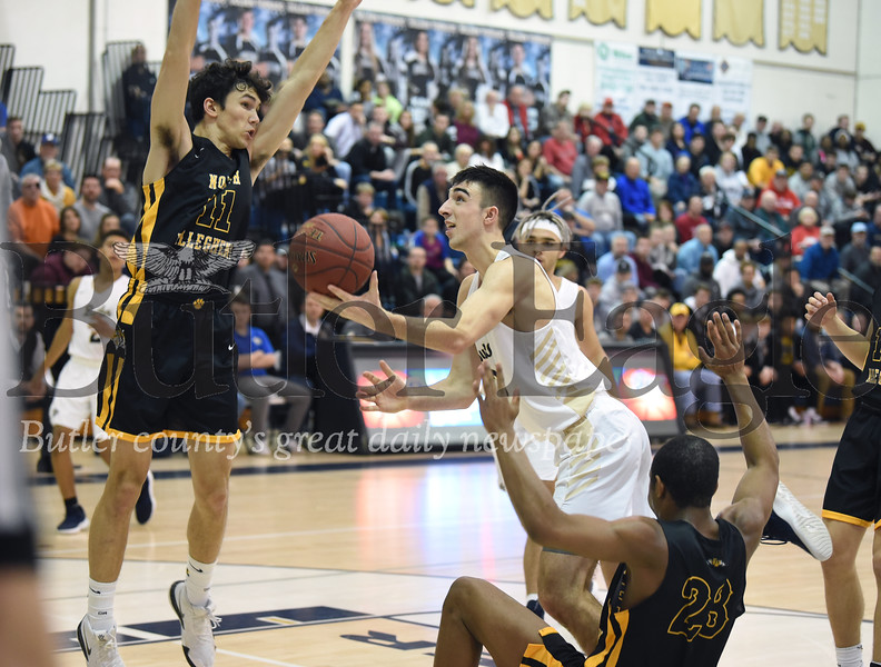 59075 Butler Vs North Allegheny WPIAL Class 6A Boys Basketball game at Butler High School