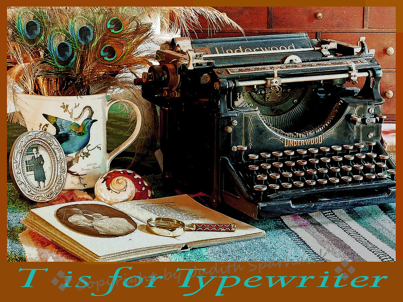 T is for Typewriter