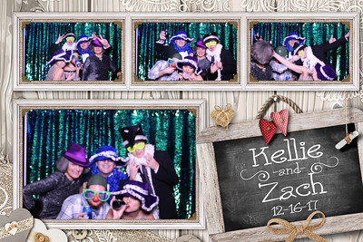 Kellie and Zach's Wedding 12-16-17