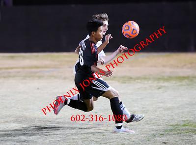 1-27-2016 - Cortez at Northwest Christian - Boys Soccer