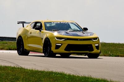 2020 SCCA TNiA June Pitt Race Adv Yellow Camaro Aero