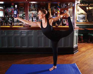 20/1/20 Greenall's Gin and Greene King are bringing gin fans a yoga class with a difference this Ginuary