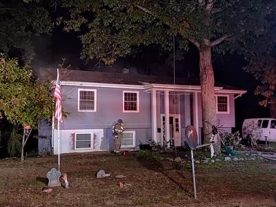 10/28/18 House Fire in Lexington Park