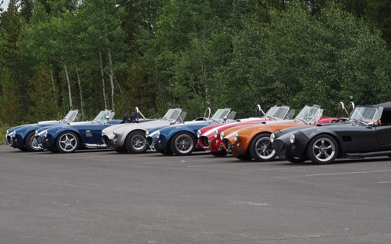 Cobra rally through La Poudre