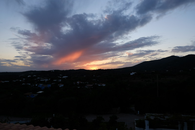 Sun Sets - View from Suite